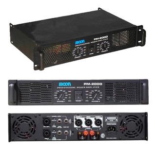 Unidad Potencia Moon Pm2000 Amplificador 2000w Rms