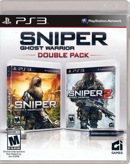 Sniper Ghost Warrior Double Pack Ps3 - Físico | Playgorila