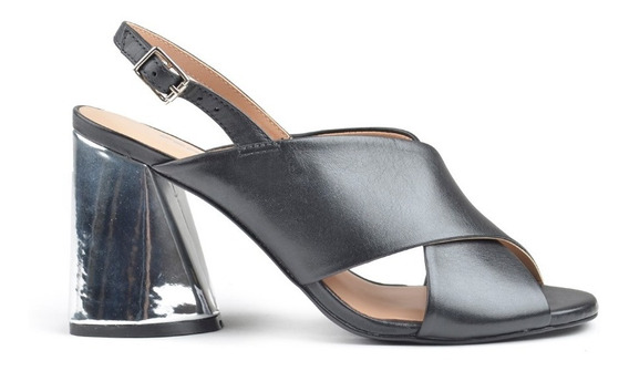 Sandalias Zapatos Zuecos De Mujer De Cuero Palm - Ferrraro