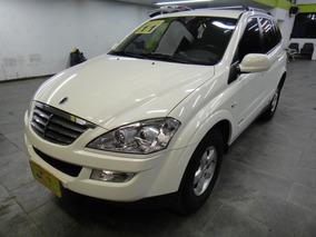 Kyron 2.0 Turbo Diesel 4x4 Automatico Completo Branco 2011