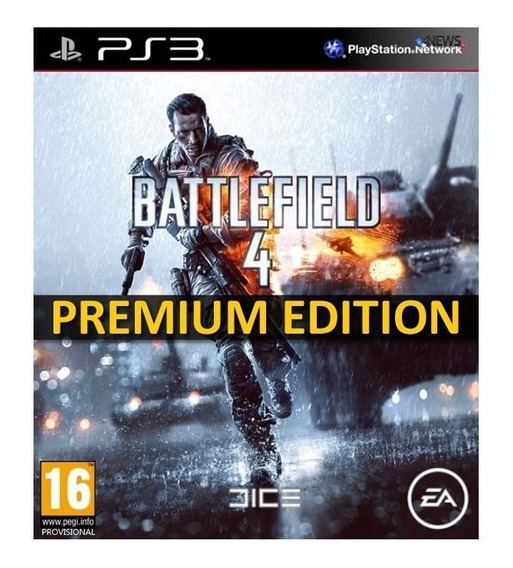 Bf4 Battlefield 4 Premium Edition Ps3 Portugues Receba Hoje