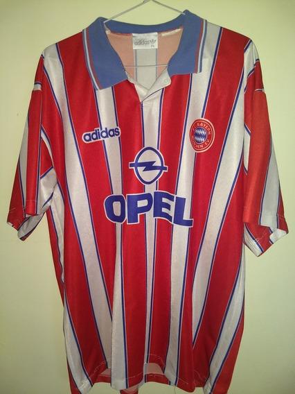 Camiseta Del Bayern Munich 1995-1996 Excelente Estado