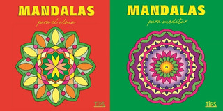 Mandalas P/ El Alma Y Mandalas P/ Meditar, Combo X2 Libros