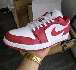Jordan 1 Low Gym Red Chicago Talla 27 Mx Nuevos