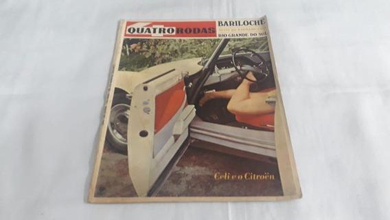 Revista Quatro Rodas Nº 82 Maio/67 Puma/teste Karmann Guia