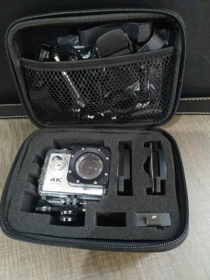 Action Cam X Sports 4k Wifi 32gb Ultra Com 2 Baterias