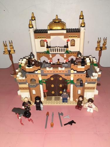 Castillo De Lego Del Principe De Persia Trae Muñecos Incluid