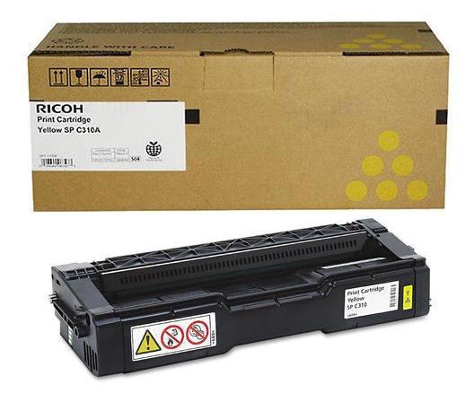 Toner Ricoh Spc 231 Spc 232 Dn Spc 310ha Yellow Original