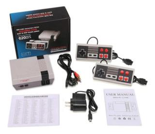 Mini Consola Retro 620 Juegos 8 Bits Clásicos 2 Controles