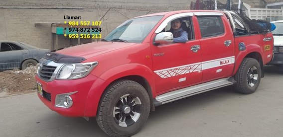 Vendo Camioneta Toyota Hilux Sr 4x2 Diesel Petroleo Año 2014