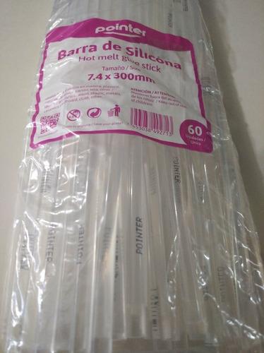 Silicon En Barra Fina Pointer 800grs 60 Barras Aprox