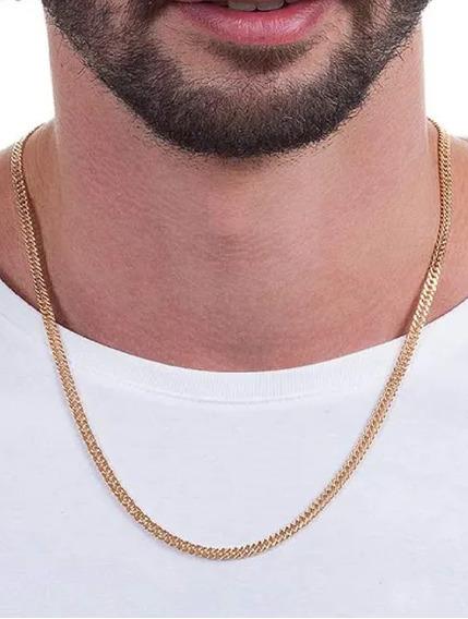 530490 Cordão Rommanel Grumet Duplo Masculino 60cm Lindo