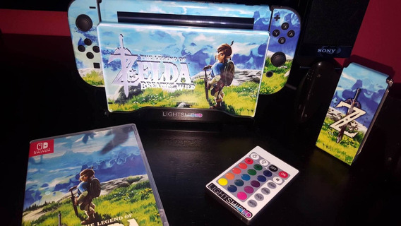 Skin Nintendo Switch Zelda Botw Sublimeskins