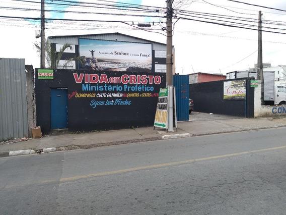 Galpão 500m² Para Locação - Vila Urupês - Suzano/sp
