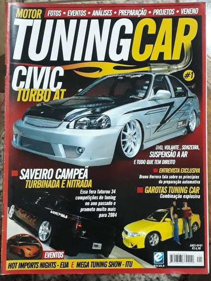 Primeira Revista Tuning Car - Ano 1 - N° 1