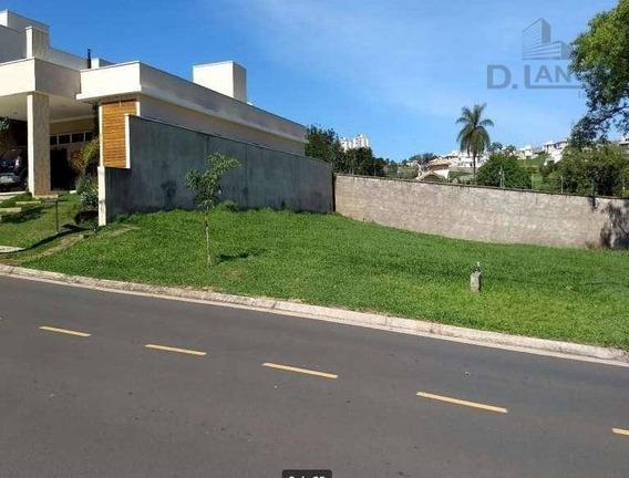 Terreno Residencial À Venda, Loteamento Parque Dos Alecrins, Campinas. - Te3715