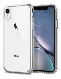 Funda Spigen iPhone XR Ultra Hybrid Cristal Transparente