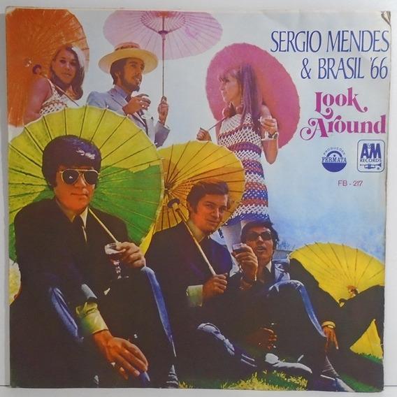 Sergio Mendes & Brasil 66 1968 Look Around Lp Batucada