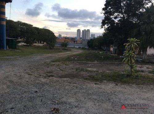 Imagem 1 de 2 de Terreno Para Alugar, 5490 M² Por R$ 18.900,00/mês - Jordanópolis - São Bernardo Do Campo/sp - Te0123
