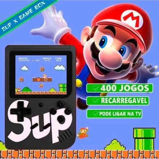 Mini Game Box Retro ( 400 Jogos )
