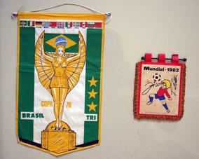 Flamula Copa De 70 E 82 - Copa Do Mundo De 70 E 80