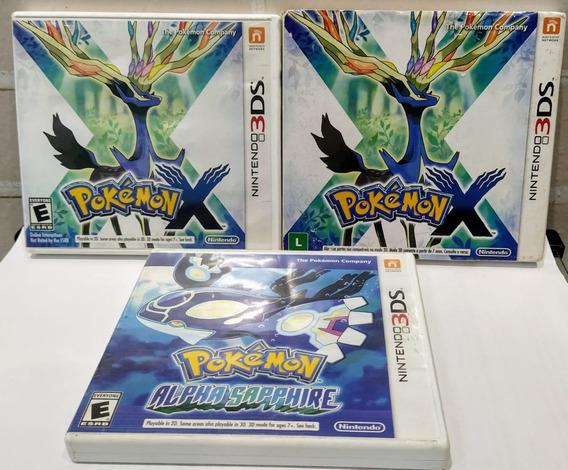 Pokémon X Ou Alpha Sapphire Nintendo 2ds/3ds Original