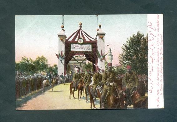 Turquia . Antigua Tarjeta Postal . 10 Mai 1909 .