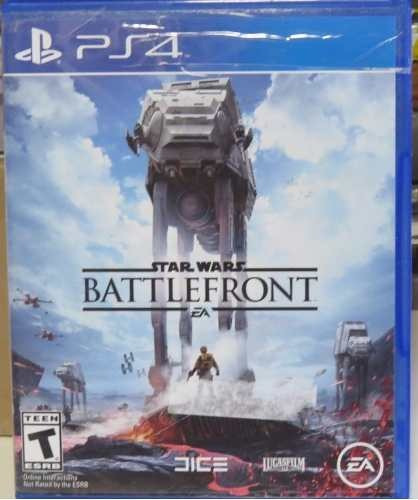 Jogo Midia Fisica Playstation Ps4 Star Wars Battlefront