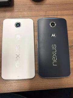 Celular Smartphone Google Nexus 6 32gb 4g Branco Lacrado