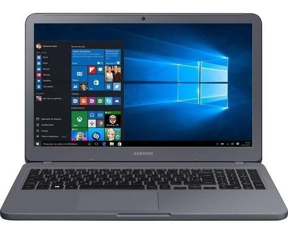 Notebook Samsung E20 Celeron 4gb 500gb 15.6 W10 Titanium