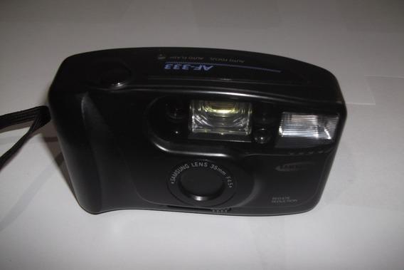 Câmera Fotográfica Samsung Retrô - Analógica - Modelo Af-333