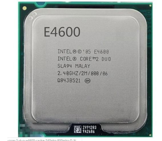 Processador Intel Core 2 Duo E4600
