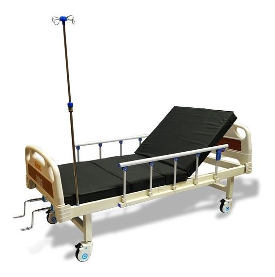 Cama Hospitalaria Manual D Lujo Con Colchon Envio Gratis Msi