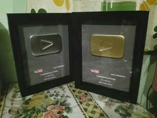 Placa De Youtube, Replica (personalizable)