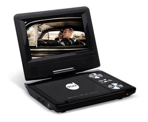 Dvd Player Portátil Dz-65130 Dazz 7 Pol