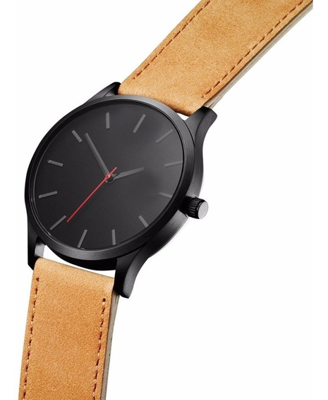 Elegante Reloj Analogico Hombre Acero Inoxidable Caballero