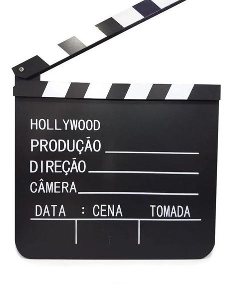 Claquete De Cinema / 30x28cm - Profissional