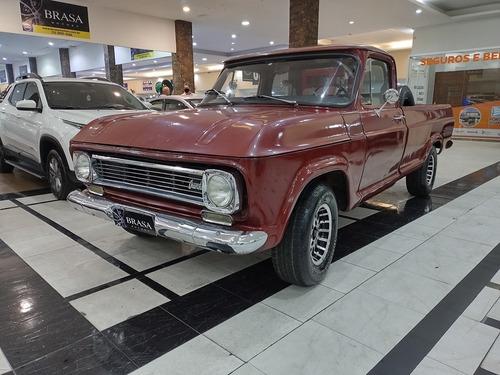 Imagem 1 de 10 de Chevrolet C10 4.1 Cs 8v Gasolina 2p C/ Motor De Opala 6cc