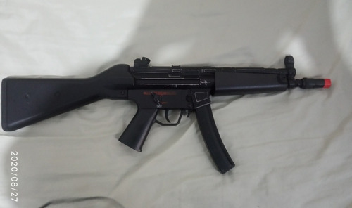 Aeg Airsoft - Mp5 Clássica Qgk  Full Metal