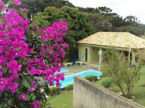 Chácara Com 3 Dormitórios À Venda, 2300 M² Por R$ 780.000 - Chácaras Fernão Dias - Atibaia, Sp - Ch0480