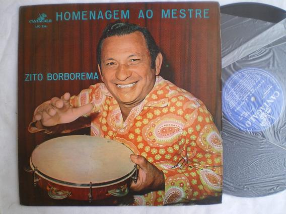 Lp - Zito Borborema / Homenagem Ao Mestre / Cantagalo Lpc656
