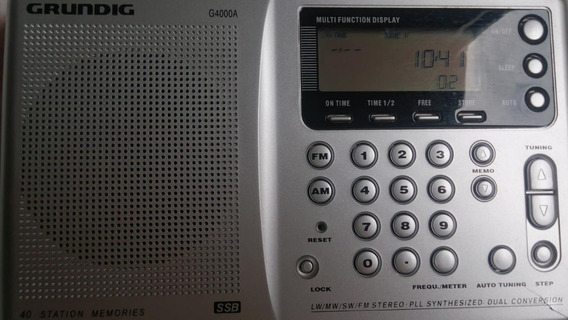 Radio Grundig G4000a Ñ Sony,motoradio,degen,tecsun,grundig