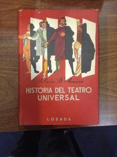 Historia Del Teatro Universal D´amico Silvio Losada