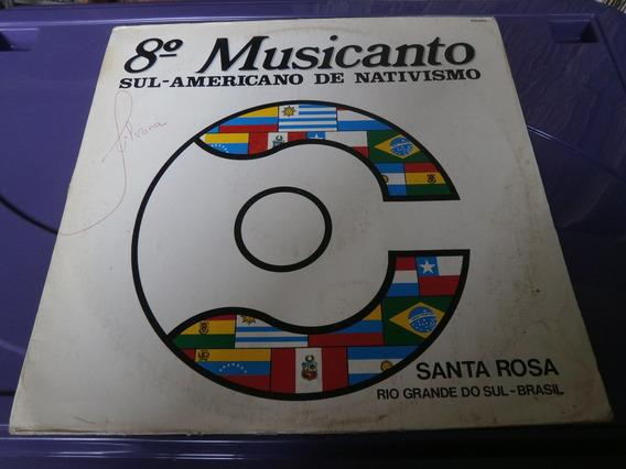 Lp 8° Musicanto Sul-amaericano De Nativismo, Disco De Vinil