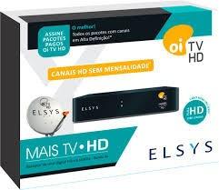 Receptor Oi Tv Livre Hd Habil +lnb Duplo+20mcabo+antena 60cm