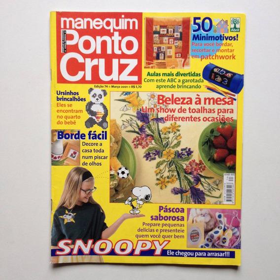 Revista Manequim Ponto Cruz E Crochê Toalhas De Mesa B134