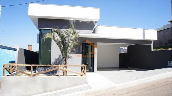 Casa Residencial À Venda No Condomínio Itatiba Country Club, Itatiba/sp - Ca0852