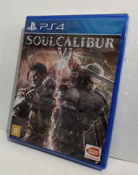 Soulcalibur Vl Ps4 Mídia Física Lacrado Pronta Entrega