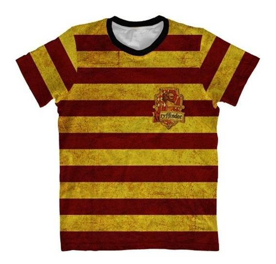 Camiseta Infantil Grifinória - Harry Potter Hogwarts