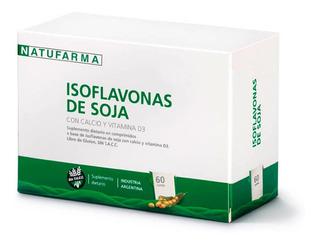 Natufarma Isoflavonas De Soja Con Calcio Vitamina D X60 Comp
